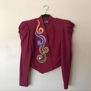 Vintage fancy blazer